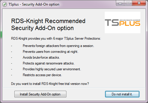 Защитник RDP RDS-Knight